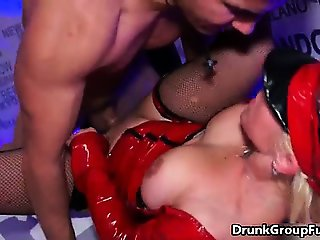 Amazing orgy in a swingers club girls part2