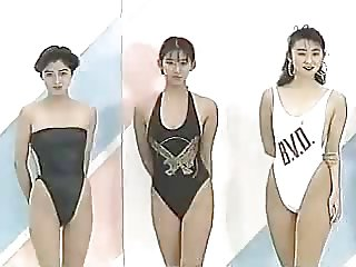 non porn vintage japanese swimsuit model pageant