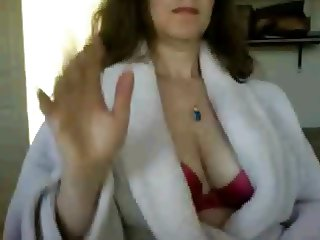 Milf-Amica di Roma mi scopa in webcam