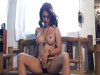 very hot ladyboy putting on a great show