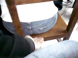 TOUCHING THE ARSE ON THE CHAIR (BY MULATO)