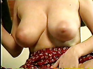 Horny mom with beautiful breasts