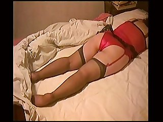 Black Stockings, Red Panties