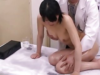 Japanese schoolgirl (18+) medical exam (2)