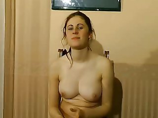 French casting vid - first anal