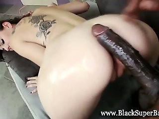 Interracial horny small tits bitch