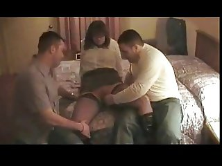 Amateur Hotel Sex Threesome