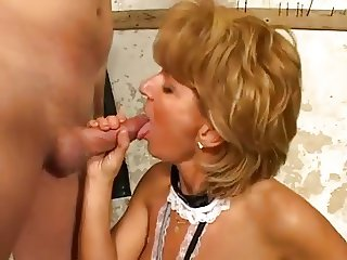 Mature woman and young man - 22