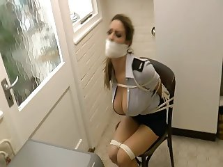 British slut gets tied up 3