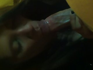 Blowjob from escort and swallows