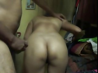 Smart Indian Housewife accept with her hubby for anal fuck