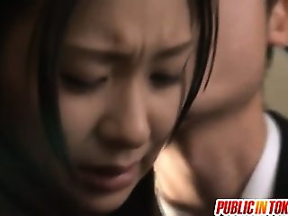 Nana Ogura Pussy Gets Stimulated In Her Panties