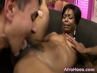 Young Black Ebony Hottie Screwed Hot