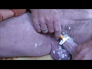 shaving my dick
