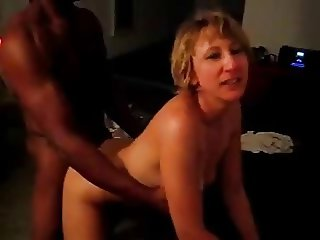 husband films wife with black