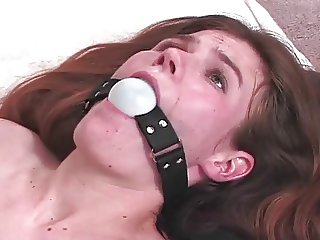 Tiny Tit Teen Anne Reddened By Mistress