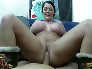 POV Babe With Blue Eyes And Big Tits