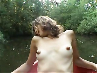 Orgasm on the river