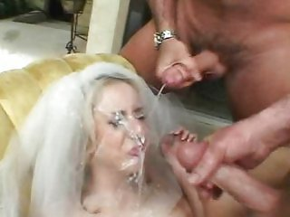 Kelly Wells, gangbang bride.