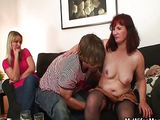 5 daughter asks her husband to fuck her mom