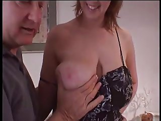 Wife fucked, husband watches