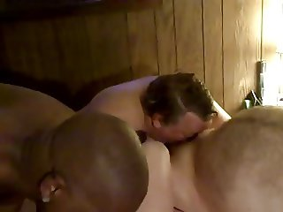 Big Booty Black Jock Sucks White Redneck