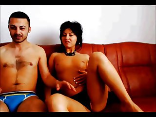 Romanian couple webcam
