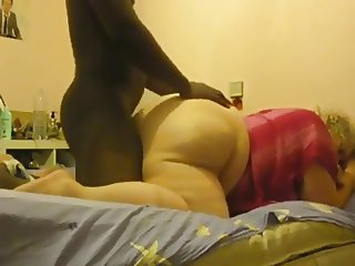 BBW With Huge Booty Gets Doggystyle