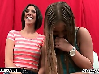 Three gorgeous and horny lesbian girls part6