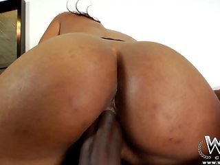 WCPClub Hot Ebony Teen Creampie