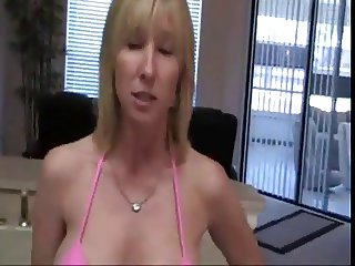 Mommy is interrupted while cleaning and gets FUCKED
