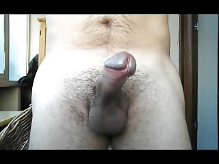 Wanking Myself - Milk ejaculation