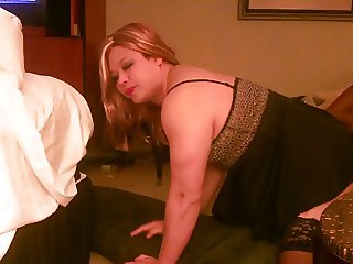 Crossdresser greets married lover - 1 part 10