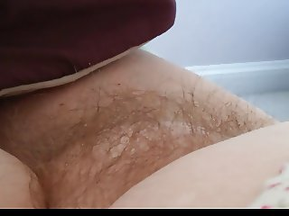 wifes hairy pussy early in the morning