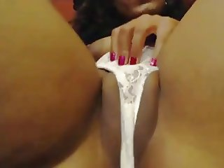 ebony wet webcam
