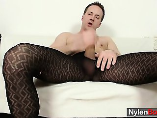 Clark shows off his huge dick and balls full of cum