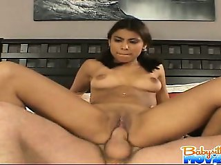 Gorgeous latina babysitter Megan getting banged in boss