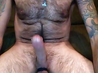 Big Dick Webcam Show Homemade Toy and Frozen Cum