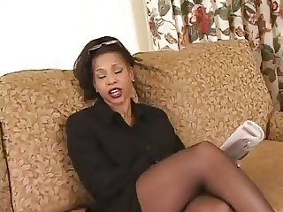 Black milf first porn video.