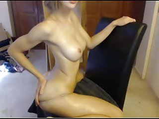 MissAlice94 with body oil