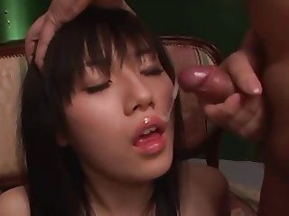 Japanese cute girls cumshot cumpilation