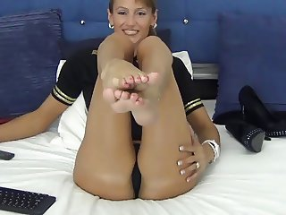 Sexy Webcam Feet