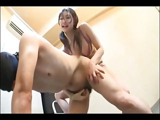 Japanese strapon mistress Azumi (censored)