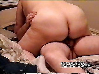 My wife riding me and cumming
