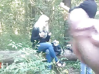 Cum for Teens in Woods
