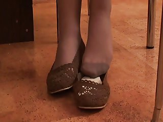 best of pantyhose feet part 2