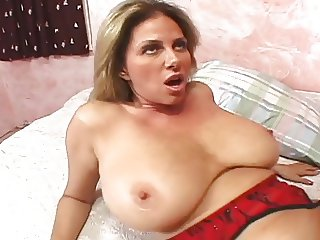 gorgeous mature sucks and fucks a cock