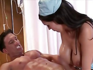 nurse helps his recovery