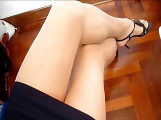 Gaby crossdresser long and loaded cumshot 1 of 3