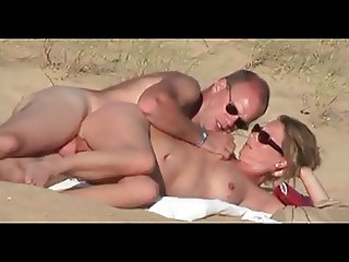 Nude Beach - Side Fuck & Fingering